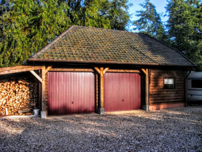 Houten garage Kamperland